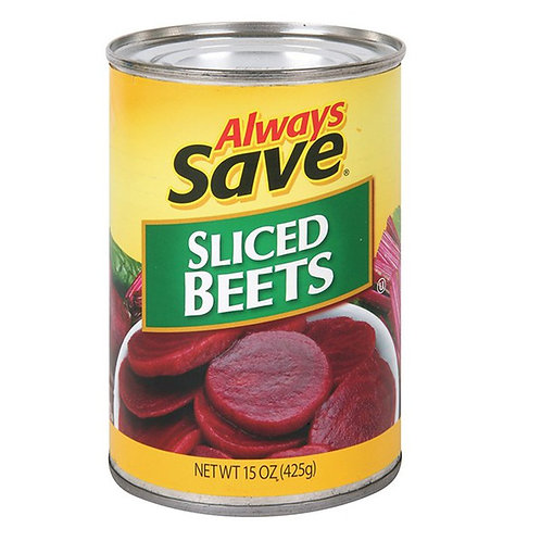 AS SLICED BEETS 15 OZ