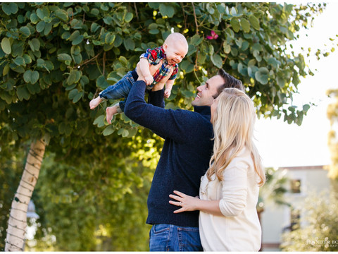 Harrison Family Portrait Session in Scottsdale