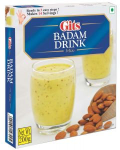 GITS BADAM DRINK MIX 200 GM