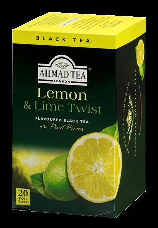 AHMAD TEA LEMON & LIME TWIST 20TB
