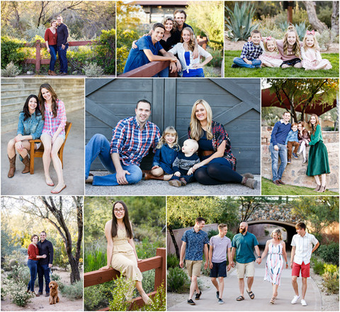 Family Portrait Locations in Scottsdale, Arizona