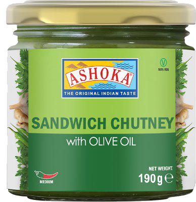 ASHOKA CHUTNEY SANDWICH OLIVE OIL 6.7OZ