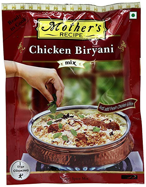 MOTHER'S READY TO COOK CHICKEN BIRYANI 100G