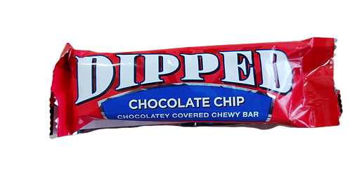 BC CHOCOLATE CHIP CHEWY DIPPED CHOCOLATE  SINGLE BAR