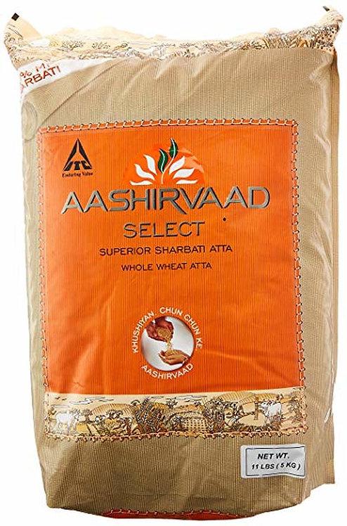 AASHIRVAAD ATTA SELECT SUPERIOR 10LB*