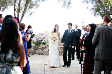 Wedding ceremony in Scottsdale AZ