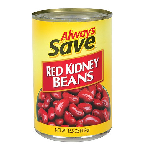 AS RED KIDNEY BEANS 15 OZ