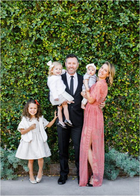 Pretty in Green: Beautiful family portraits in Scottsdale Arizona