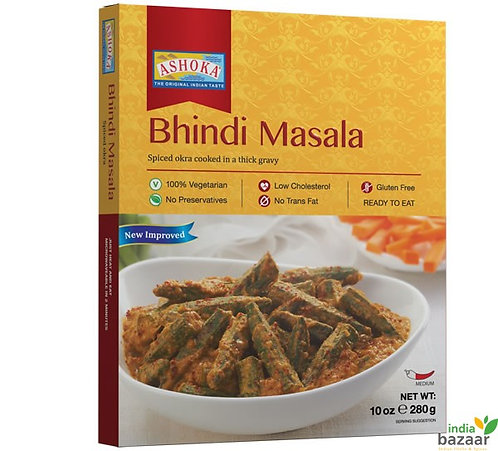 ASHOKA READY TO EAT BHINDI MASALA 280G