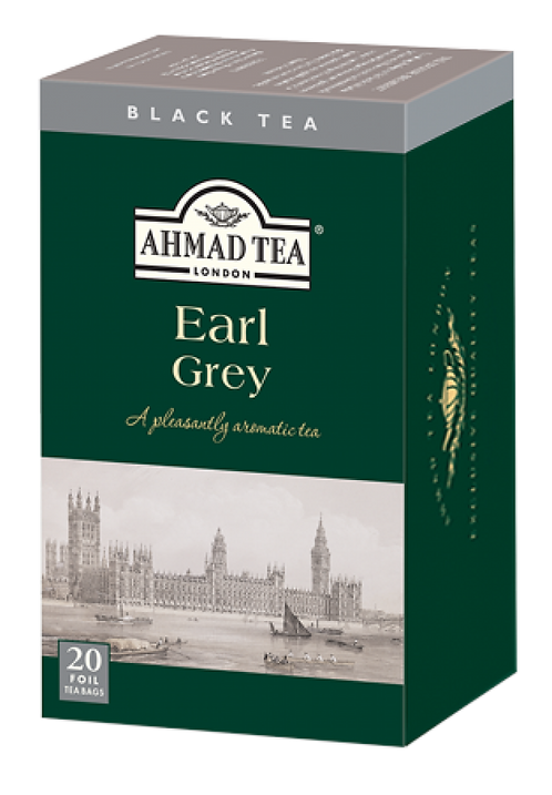 AHMAD TEA EARL GREY 20TB