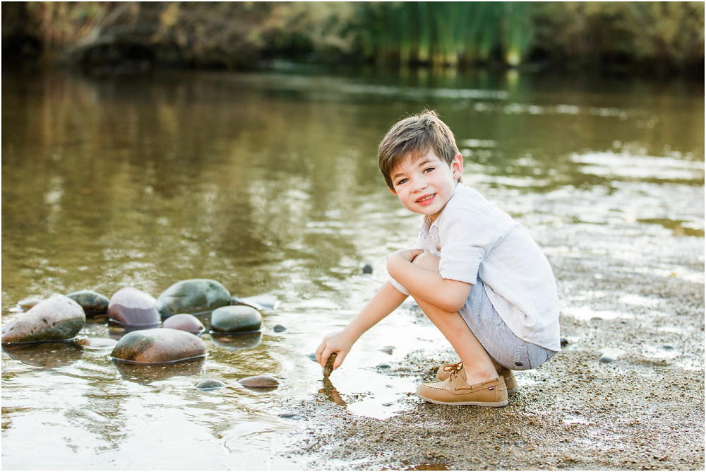 candid photography for families - arizona family photographer