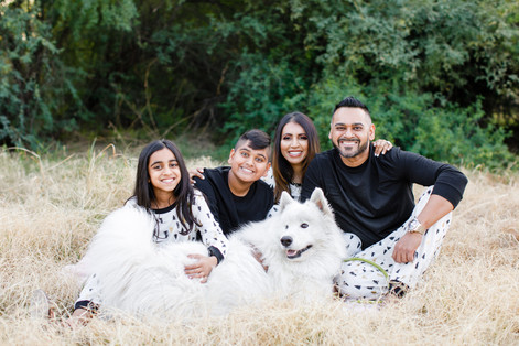 Fields of Green (& Gold) - Family photos for the Shah's in Phoenix, Arizona