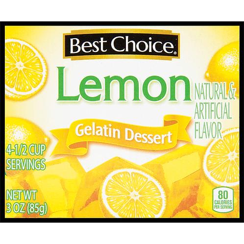 BC LEMON GELATIN 3 OZ