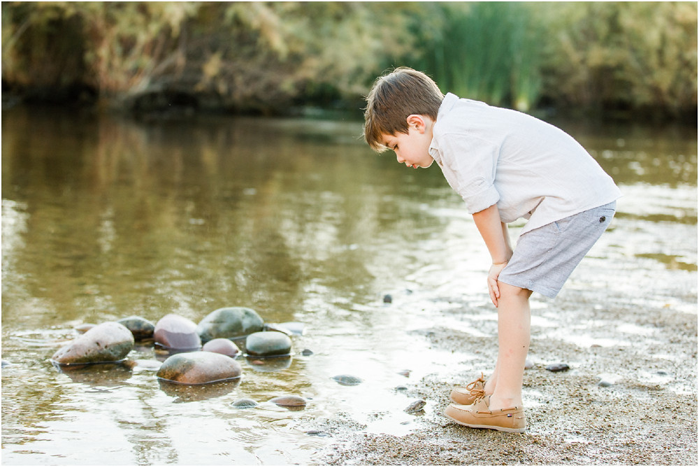 water locations in arizona for family portraits