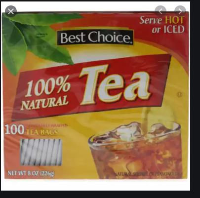 BC TEA BAGS (100 BGS)   2PK