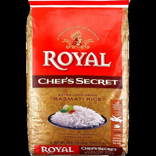 ROYAL CHEF SECRET BASMATI RICE 10 LB