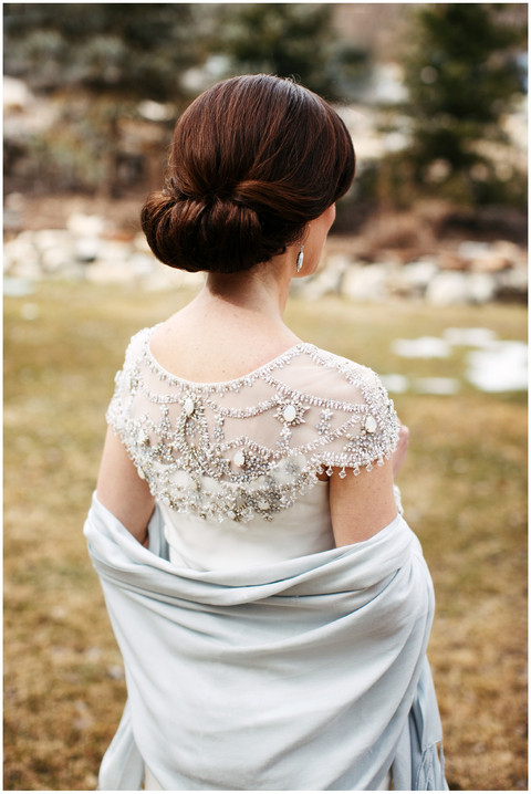 Winter Wedding at Sundance Resort in Utah