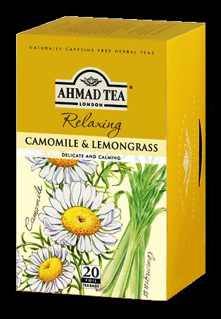 AHMAD TEA CAMOMILE & LEMON GRASS 20TB