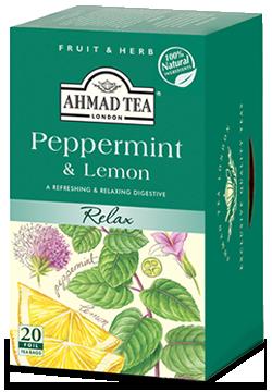 AHMAD TEA PEPPERMINT & LEMON 20TB