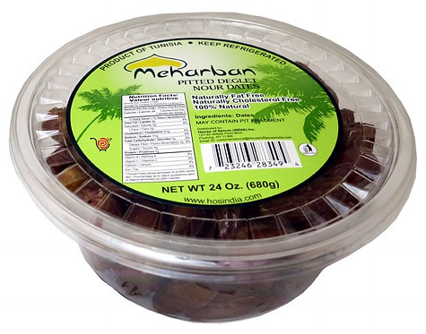 MEHARBAN PITTED DATES 24X10OZ