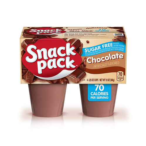 BC CHOCOLATE PUDDING 4PK CUPS