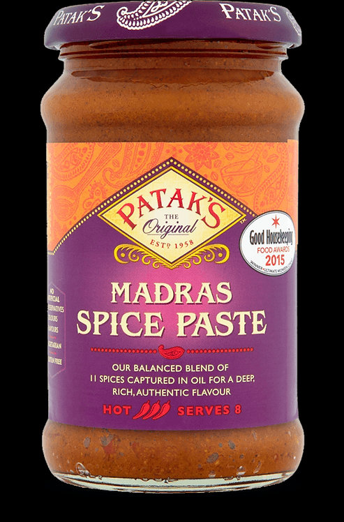PATAK MADRAS CURRY PASTE 300GM