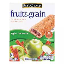 BC APPLE FRUIT BAR  8 BARS