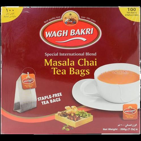 WAGH BAKRI MASALA TEA 100TB