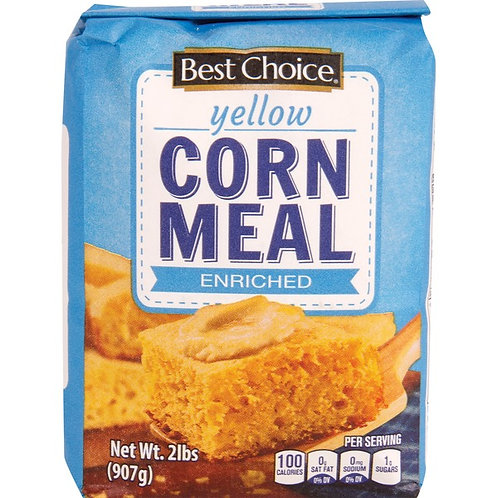 BC YELLOW CORNMEAL 2 LB