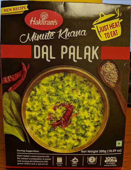HALDIRAM READY TO EAT DAL PALAK 283GM