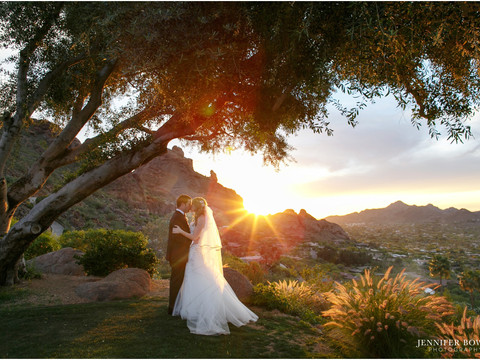 Wedding at Sanctuary Resort on Camelback Mountain