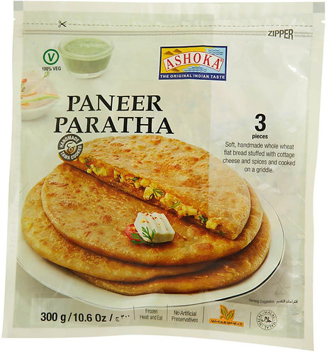 ASHOKA PARATHA PANEER 300GM 3PC