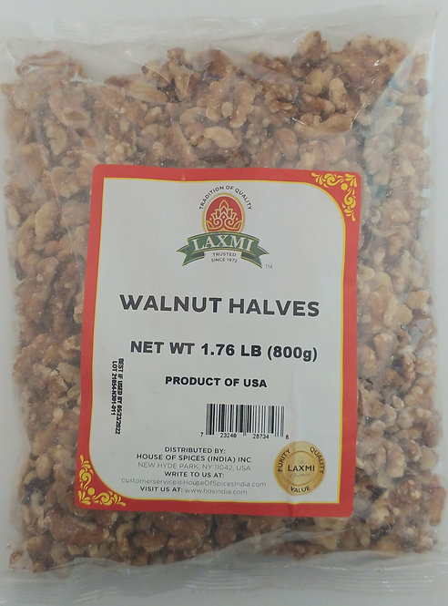 LAXMI WALNUT HALVES 10X800 GM