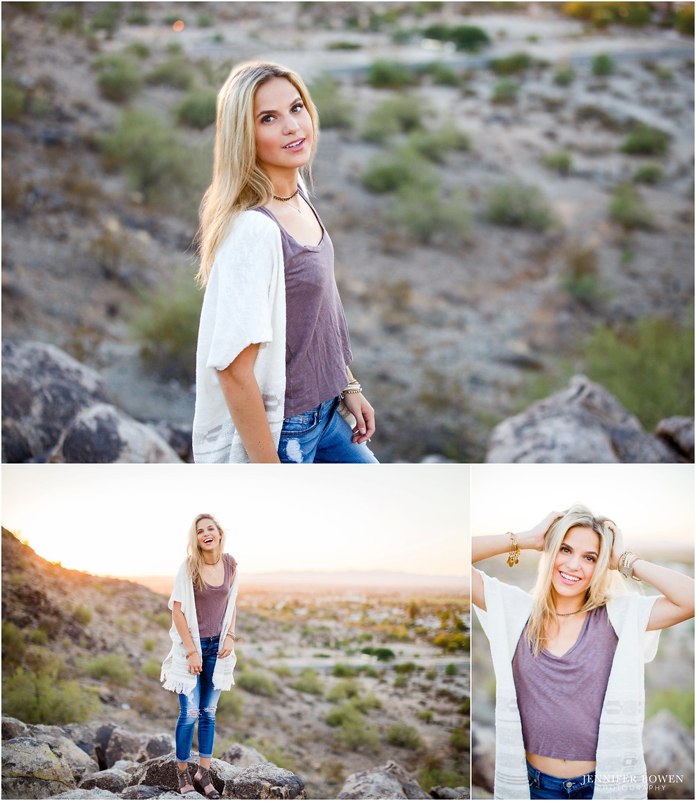 sunset photos in the desert phoenix  az