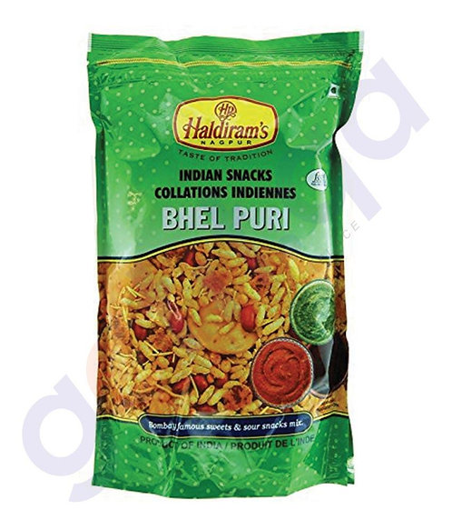 HALDIRAM BHELPURI WITH CHUTNEY 700GM