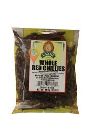 LAXMI  RED CHILI WHOLE  100GM