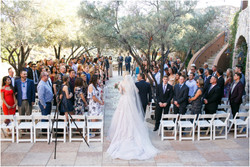 Ceremony at Chiricahua Clubhouse