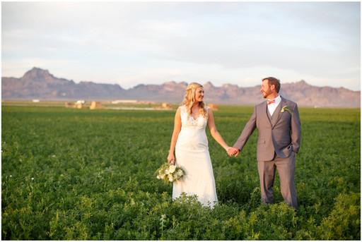 farm wedding in arizona