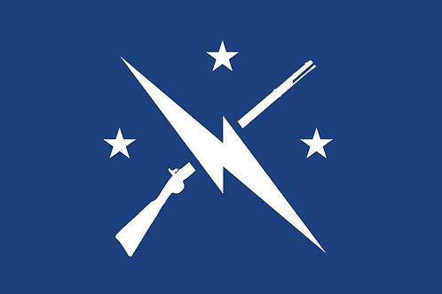 90x150cm Fallout Commonwealth Minutemen Flag for Decoration
