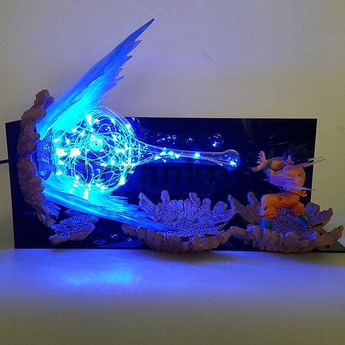 DBZ Son Goku Kamehameha Led Explosion