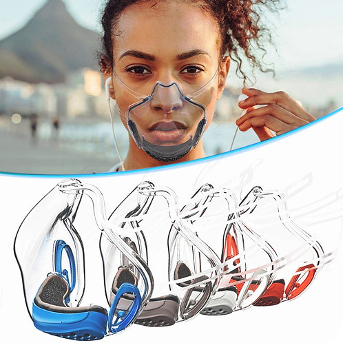 Durable Transparent Face Mask Shield