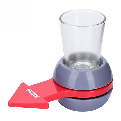 Rotatable Shot Spinner Party Game