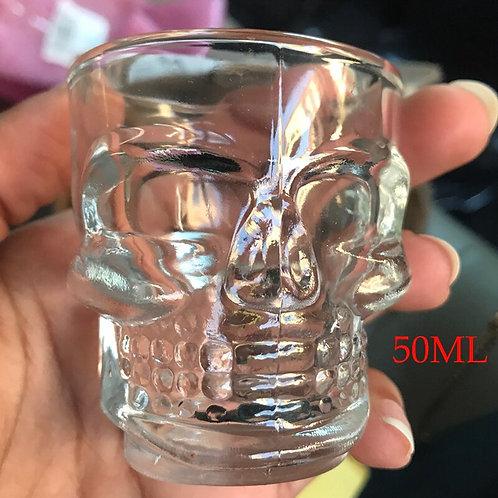 Crystal Skull Head Cup
