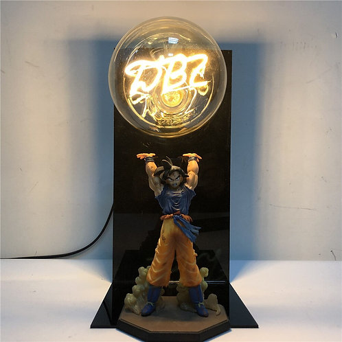 Dragon Ball Son Goku Spirit Bomb Table Lamp
