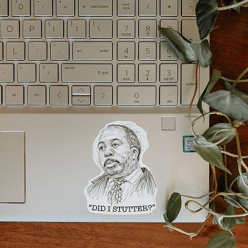 Stanley Hudson Sticker