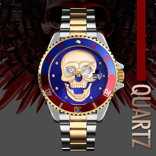 Men's Skull Watch