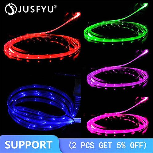 3 ft Smile Grow LED Micro USB Cable