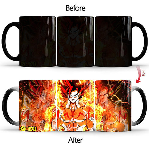 Dragon Ball Z Super Saiyan Color Changing Mug