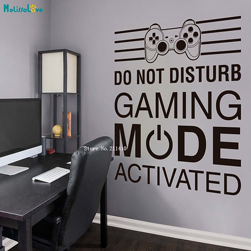 Gamer Wall Sticker
