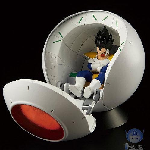 8 years Old Bandai Dragon Ball Vegeta IV Space Capsule  Statue